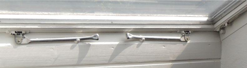 Velux doppelter RIegelgriff für Fenster bis ca. 1969